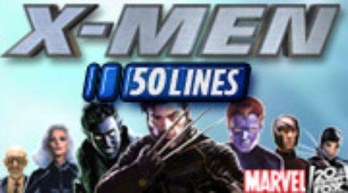 X Men 50 Lines