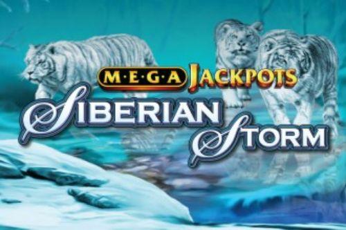 Siberian Storm MegaJackpots