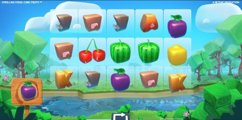Strolling Staxx Cubic Fruits demo