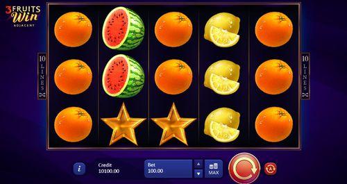 3 Fruits Win: 10 Lines demo