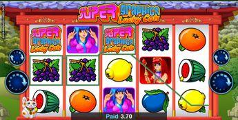 Casino games odds listing