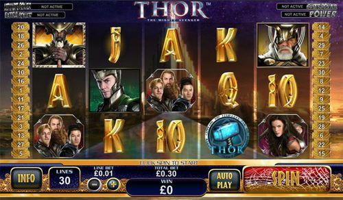 Thor The Mighty Avenger slot
