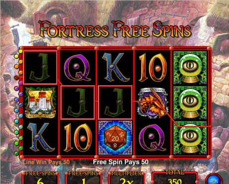 Dungeons and Dragons Fortress of Fortunes slot