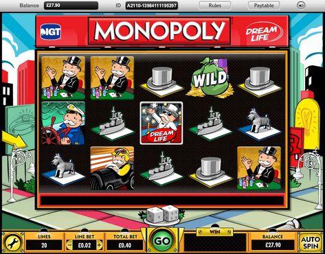 Monopoly Dream Life slot