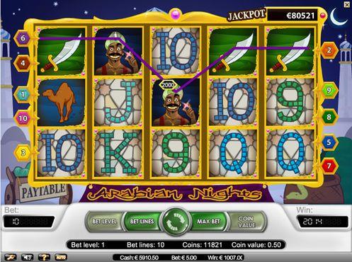 Arabian Nights slot