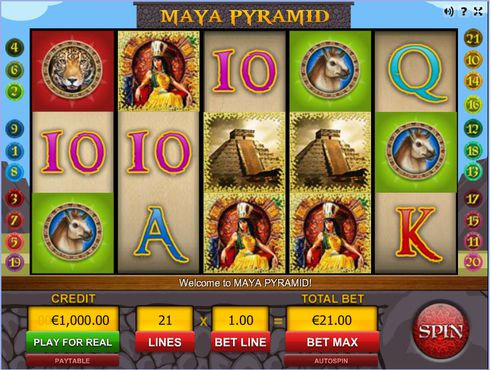 Maya Pyramid slot