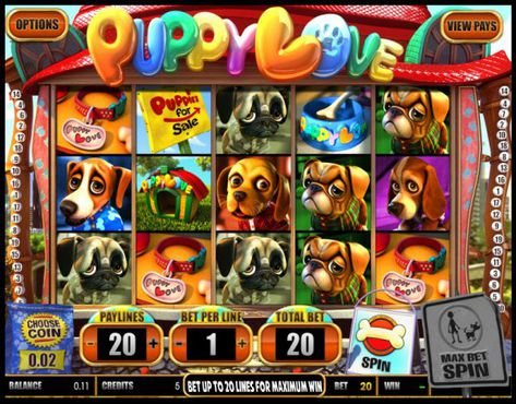 Puppy Love slot