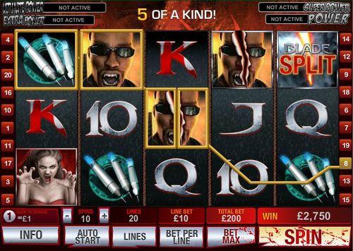 Blade 50 Lines slot