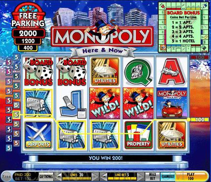 Monopoly Here And Now slot