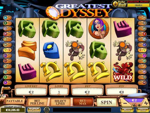 Greatest Odyssey slot