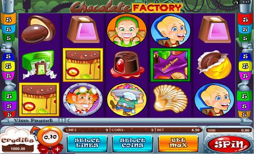 Chocolate Factory slot
