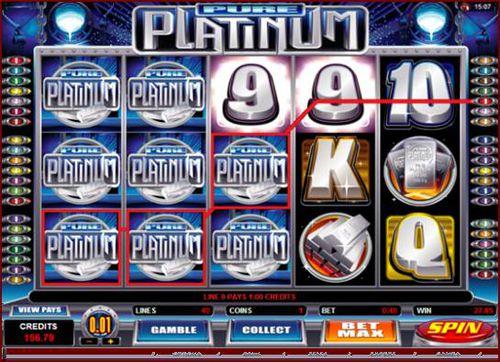 Pure Platinum slot