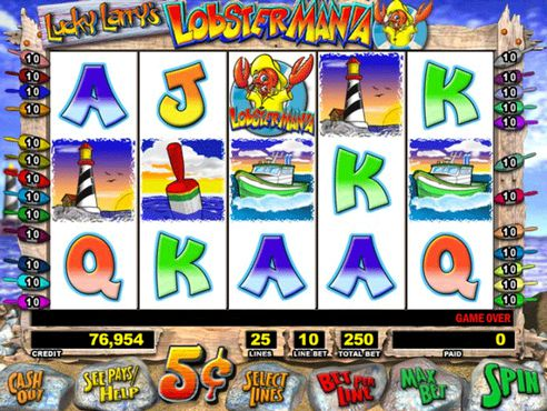 Lucky Larry's LobsterMania slot
