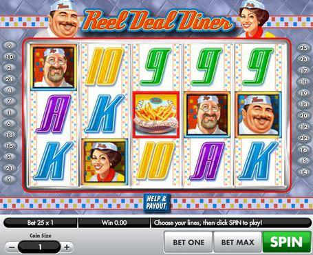 Reel Deal Diner slot
