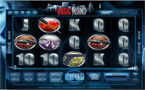 Basic Instinct slot