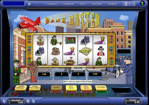 Bank Buster slot