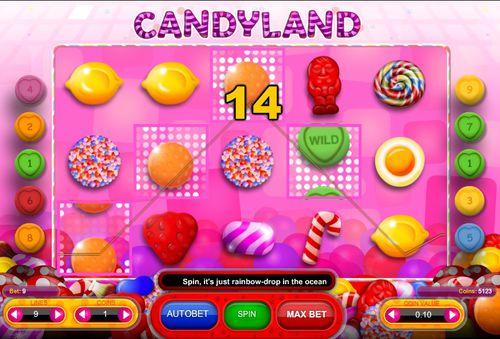 Candyland slot