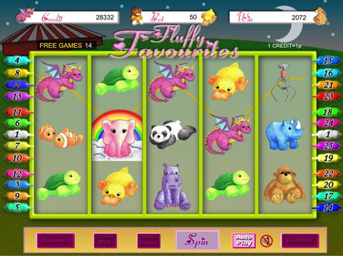 Fluffy Favourites slot