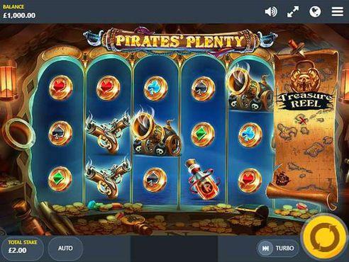 Pirates' Plenty The Sunken Treasure slot