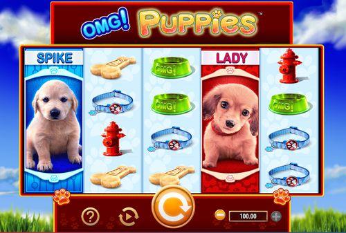 OMG! Puppies slot