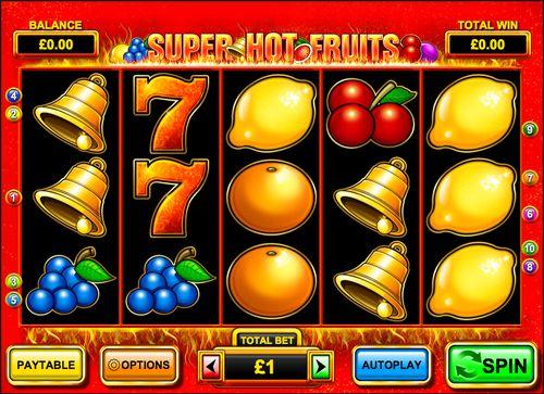 Super Hot Fruits Slot slot