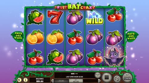 Fruit Bat Crazy slot