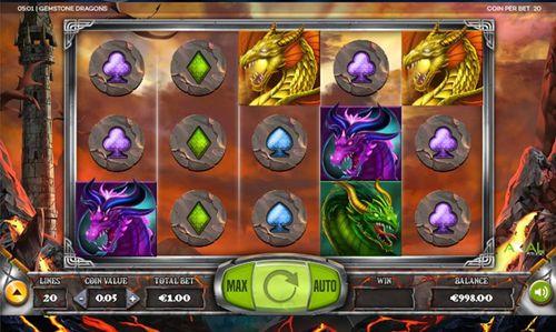 Gemstone Dragons slot