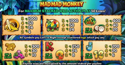 Mad Mad Monkey free play