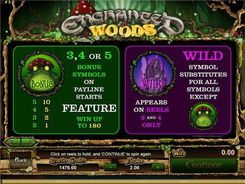 Enchanted Woods free play