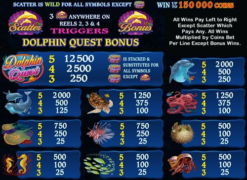 Dolphin Quest free play