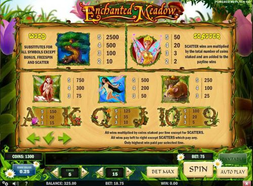 Enchanted Meadow  free play