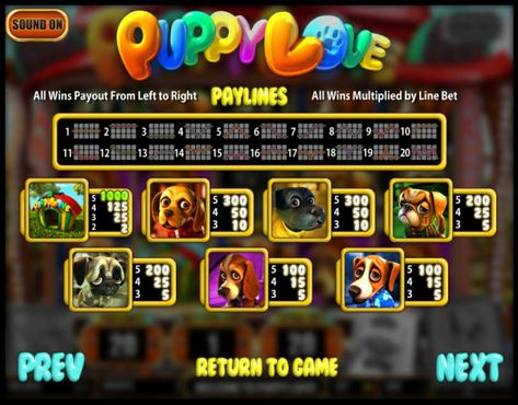 Puppy Love free play