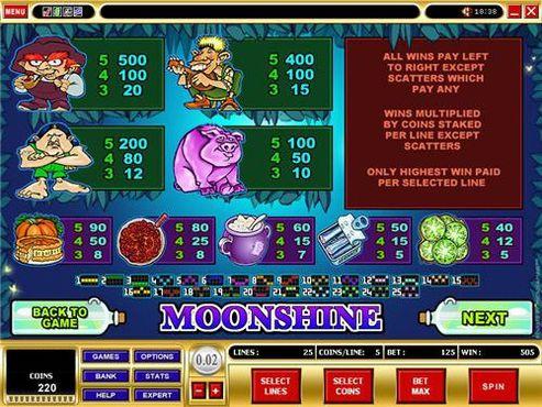 Moonshine free play
