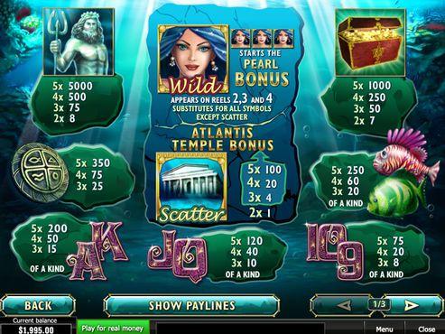 Atlantis Queen free play