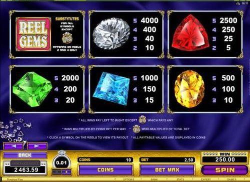 Reel Gems free play