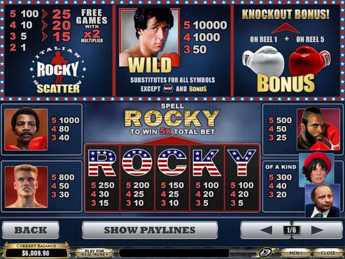 Rocky free play