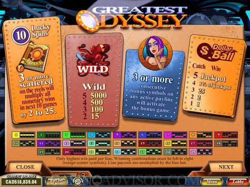 Greatest Odyssey free play