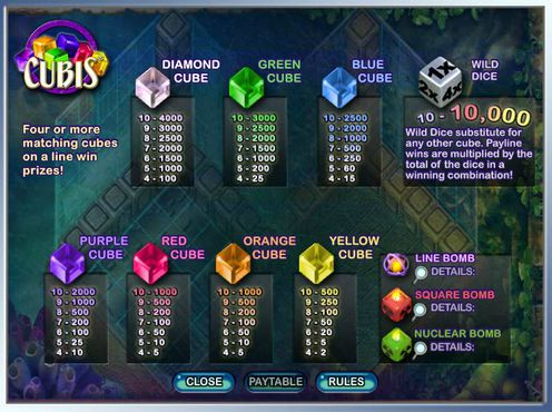 Cubis free play