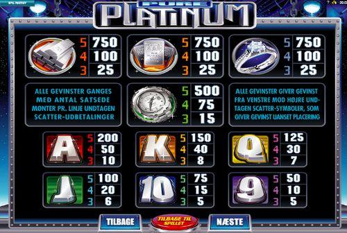 Pure Platinum free play