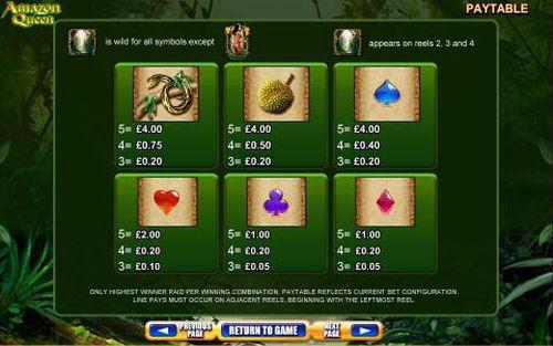 Amazon Queen free play
