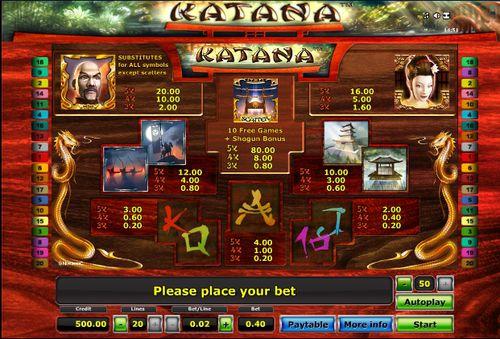 Katana free play