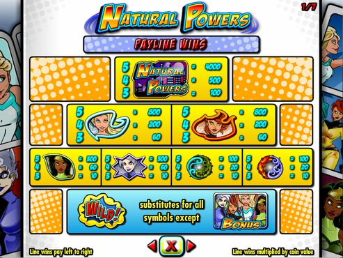 Natural Powers free play