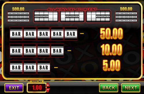 Super Spins Bar X Gold free play