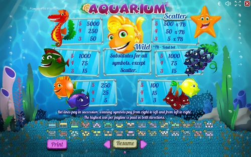 Aquarium free play