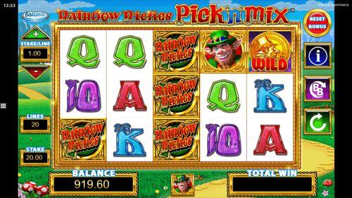 Rainbow Riches Pick N' Mix Slot free play