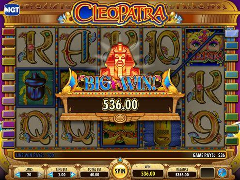 Cleopatra free play