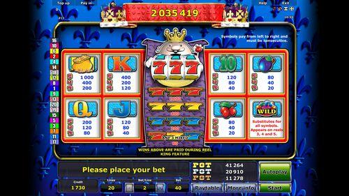 Reel King free play