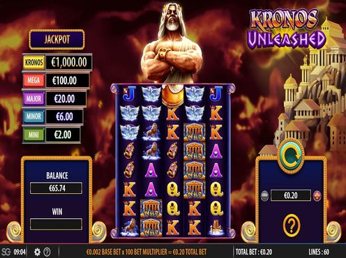 Kronos Unleashed free play
