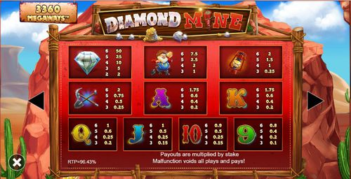 Diamond Mine free play