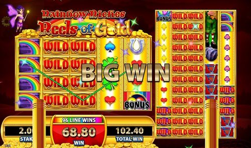 Rainbow Riches Reels of Gold free play